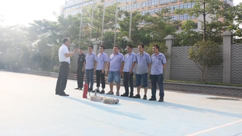深圳东佳信电线电缆员工消防培训