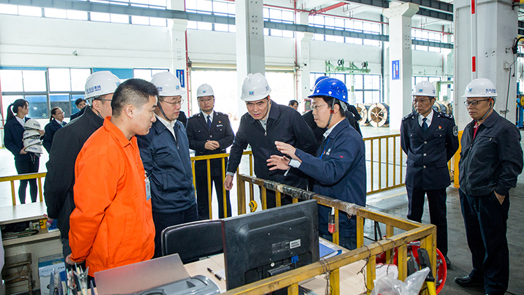 国家市场监管总局张文兵司长一行到深圳电线电缆生产企业调研指导质量安全工作