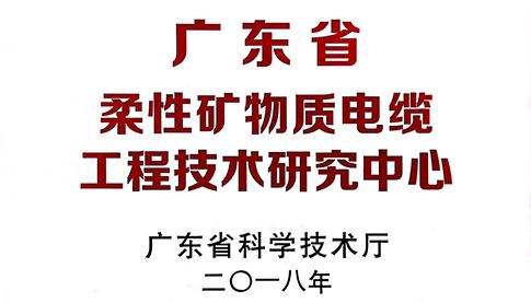 广东省柔性矿物质电缆工程技术研究中心