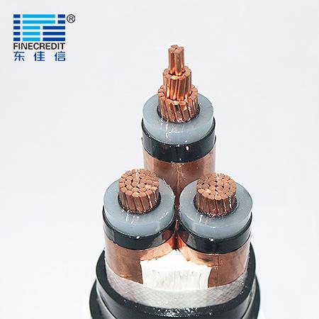YJV22 8.7/15kV中压交联聚乙烯绝缘电力电缆