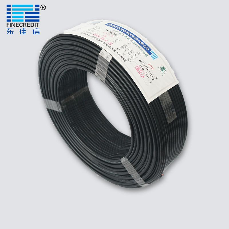 ZA-RV-105耐高温105度聚氯乙烯绝缘软电线