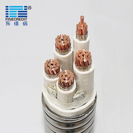 HFTGB-铜芯陶瓷化绝缘金属护套柔性矿物质防火电缆